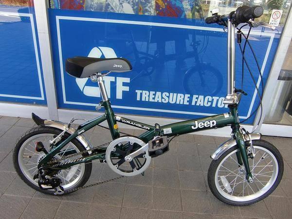 自転車の 自転車 ジープ 16インチ : トレジャーファクトリー南大沢 ...
