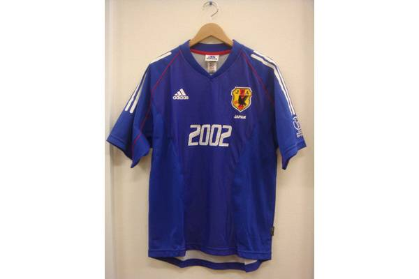 サッカー日本代表2002年W杯メモリアルユニフォーム買取入荷 ...