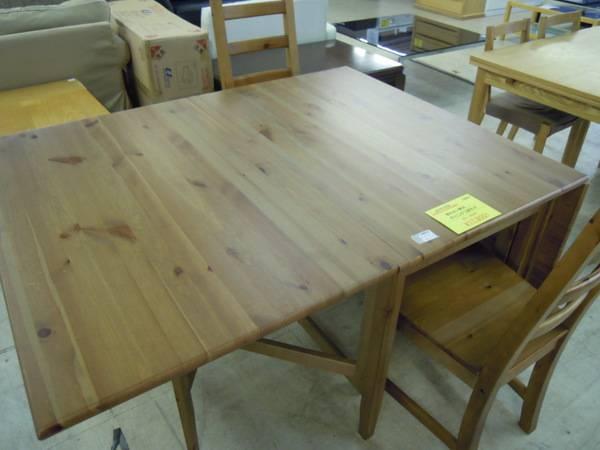 IKEAのダイニングテーブル ...