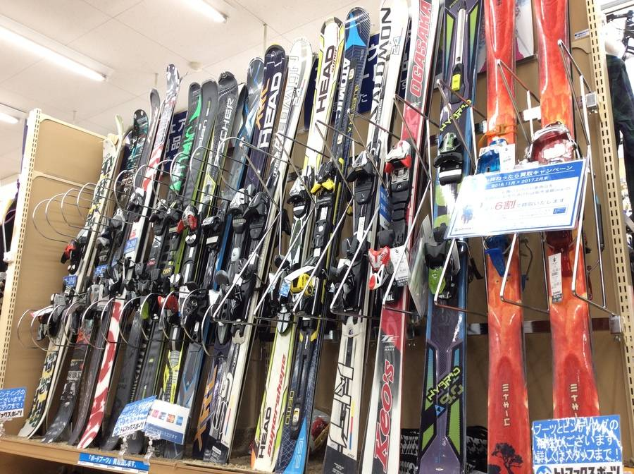 【TFスポーツ柏】まだまだ在庫あります!スキー用品お探しならTFスポーツへ!【中古スノーボード】