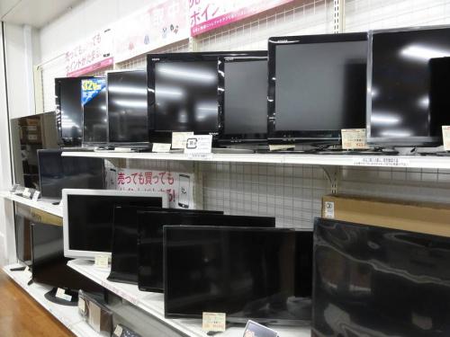 液晶テレビの足立区店舗新入荷