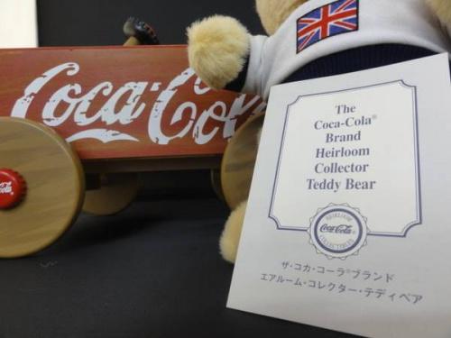 コカ・コーラのテディベア