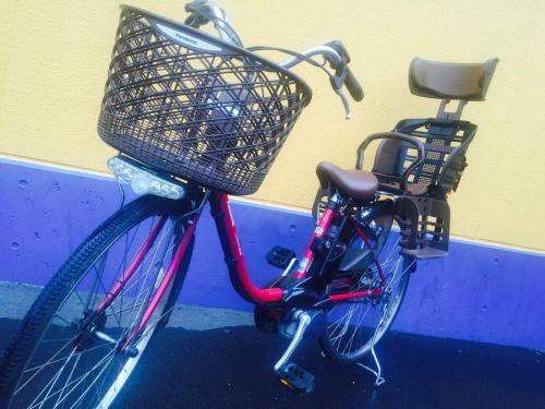 自転車のPanasonic