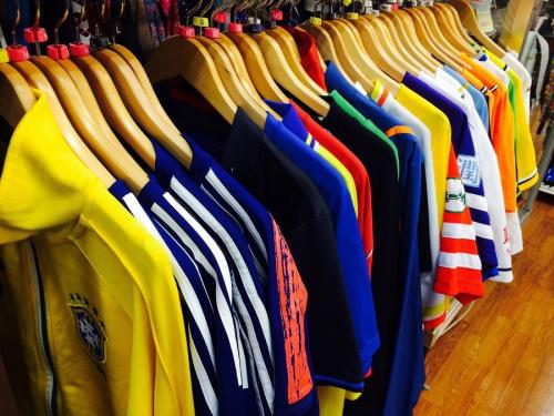 野球・サッカーのゲームシャツ
