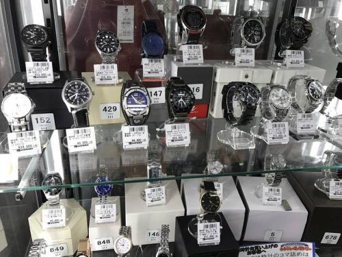 クオーツの足立西新井腕時計