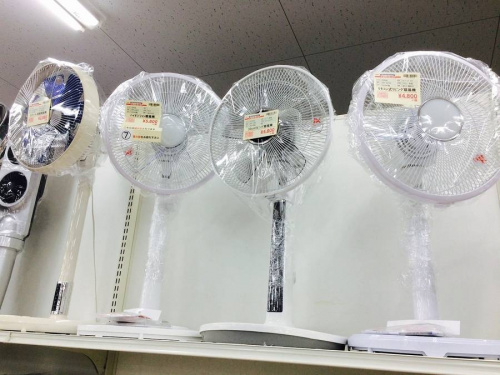 足立西新井家電の夏物家電