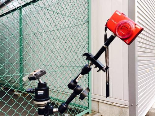 一眼レフカメラのスピーカー
