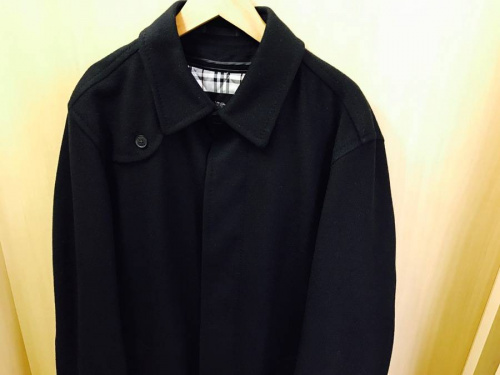 BURBERRY BLACK LABELのステンカラーコート