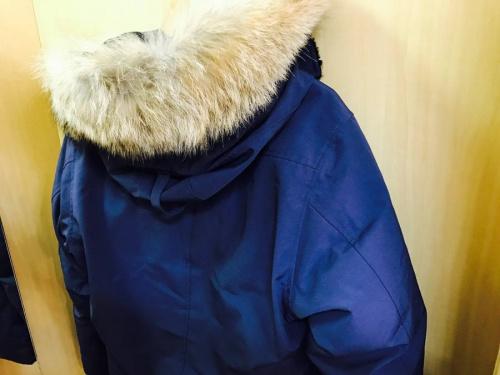 ダウンコートの衣類