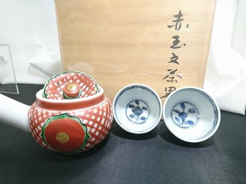 九谷焼の茶器