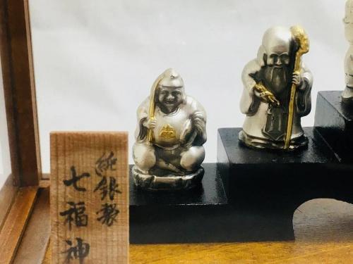 インテリアの七福神