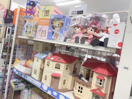 おもちゃの買取強化