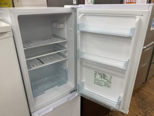 2ドア冷蔵庫の冷蔵庫