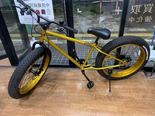 自転車のファットバイク