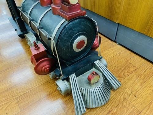 アンティークの機関車