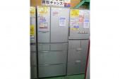 リサイクルの冷蔵庫