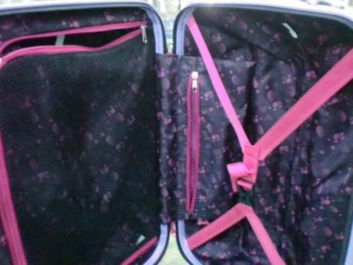 Barbieのキャリーバッグ