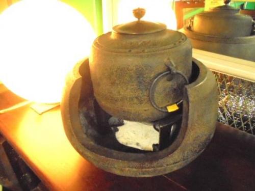 雑貨の茶釜