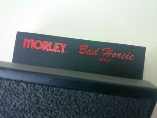 MORLEYのエフェクター