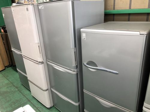 大型冷蔵庫の中古洗濯機