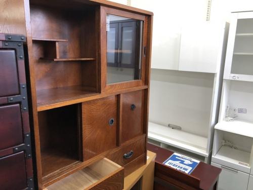 カップボード・食器棚の和風茶箪笥