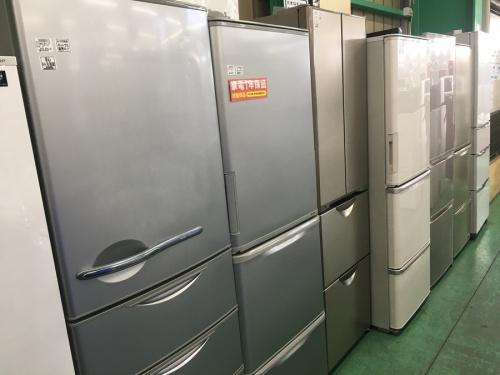 中古家電の大型冷蔵庫