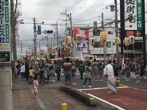吉川の祭り