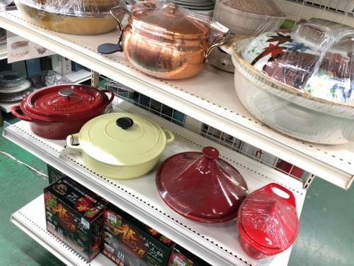 中古食器の鍋