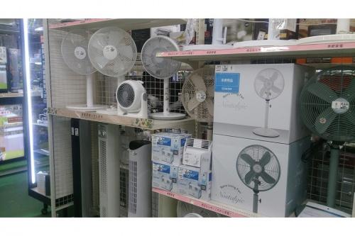 扇風機のエアコン