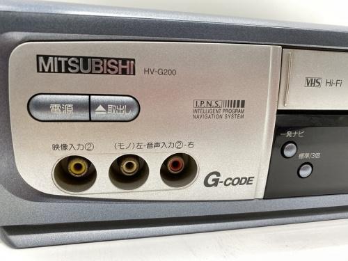 レコーダー・プレイヤーのMITSUBISHI