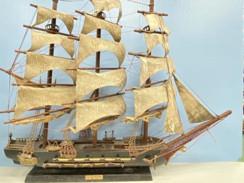 ホビーの帆船模型