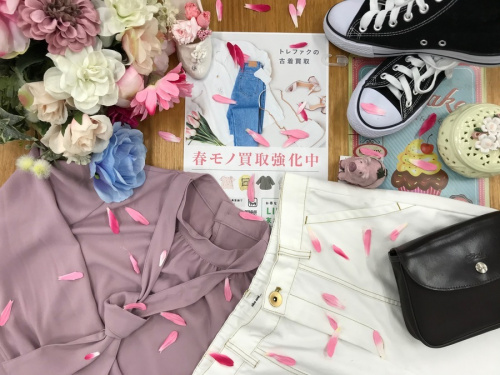 レディースファッションの春