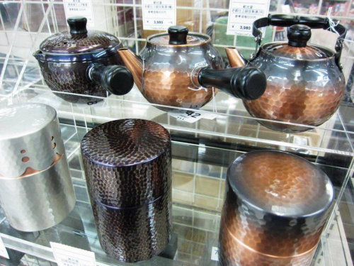 茶筒の足立区店舗新入荷