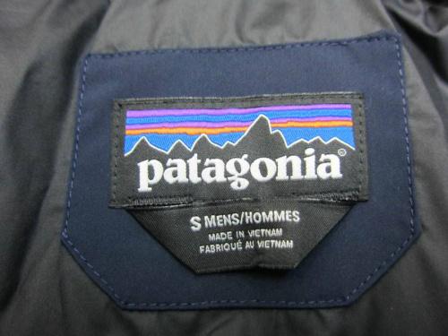 patagoniaのダウンジャケット