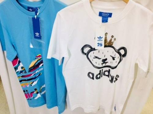 Tシャツのadidas