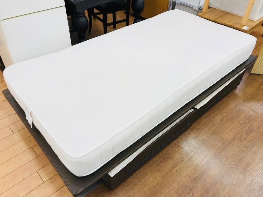 無印良品 オーク材 シングルベッドが買取入荷致しました
