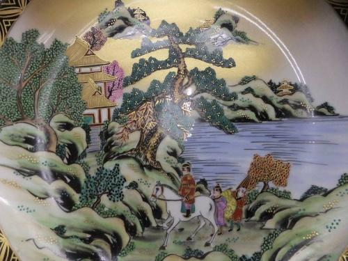 飾り皿の相模原 骨董
