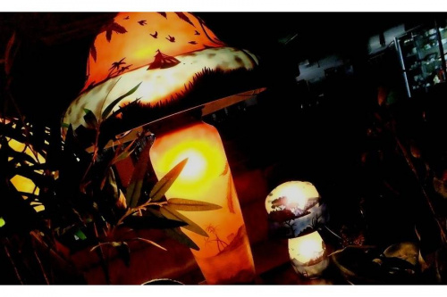 インテリア照明のエミールガレ風