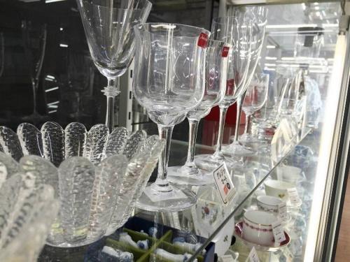 インテリアのクリスタルガラス