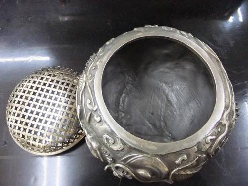 香炉の相模原骨董市