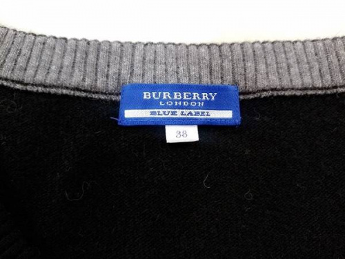 ニットのBURBERRY BLUE LABEL