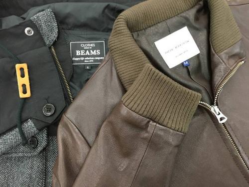 メンズファッション セレクトのマウンテンパーカー レザージャケット