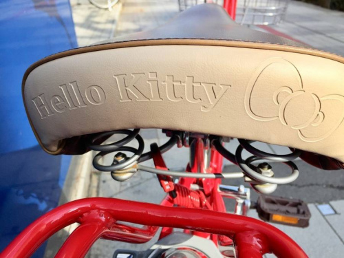 自転車のサンリオ