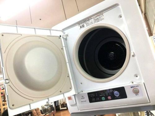 生活家電の衣類乾燥機