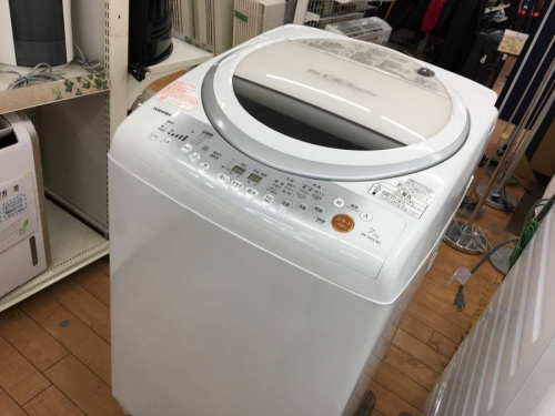 生活家電の洗濯機