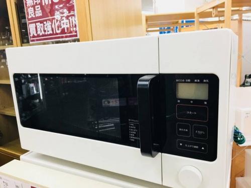 電磁レンジの中古冷蔵庫