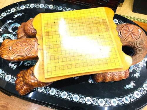 骨董の碁盤