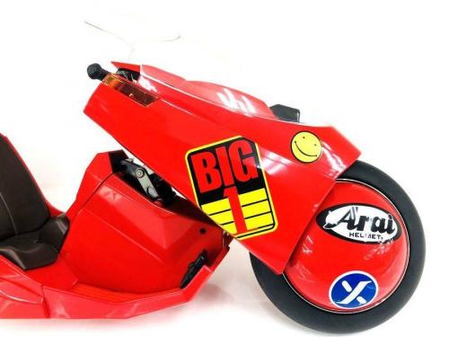 金田のバイクのAKIRA