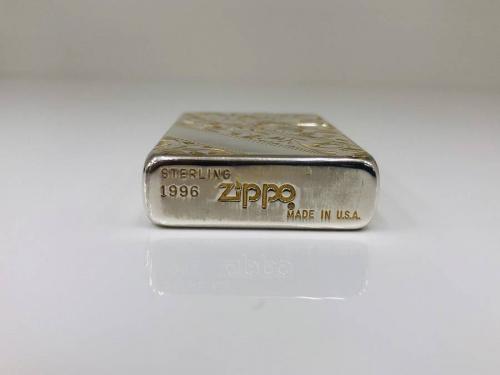 スターリングシルバー 手彫り純銀 1996年製の相模原
