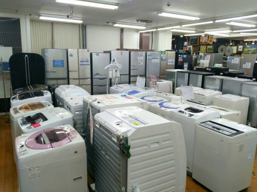 相模原 中古洗濯機